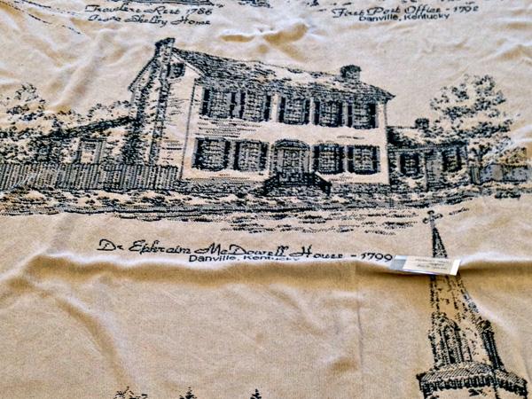 McDowell House Afghan Blanket