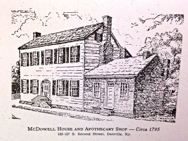 McDowell House Note Cards