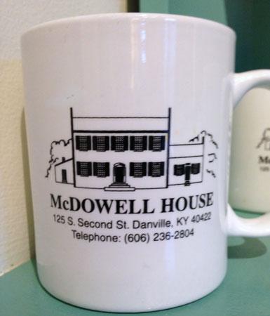 McDowell House Coffee Mug