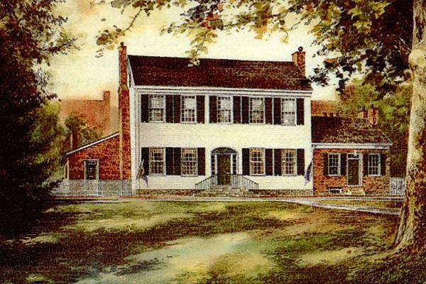 McDowell House Render Drawing