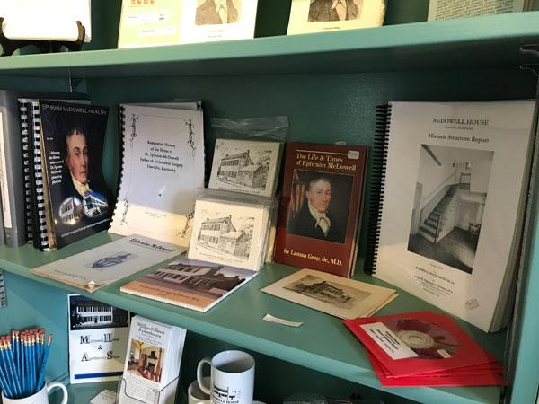 Gift Shop Media Bookshelf
